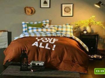 Cotton Bedding set - C1-15