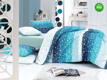 Cotton bedding set R-02