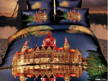 3D Bedding set - 5014