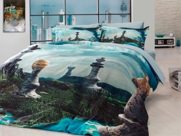 3D Bedding set - 25 Chess
