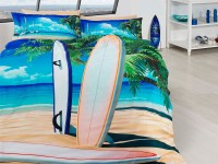 3D Bedding set - 47 Surfing