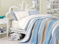 Clasic Bedding set with Knit Blanket-N215