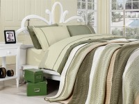 Clasic Bedding set with Knit Blanket-N214