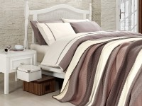 Clasic Bedding set with Knit Blanket-N210