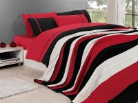 Clasic Bedding set with Knit Blanket-N207