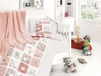 Baby bedding sets with kniket blanket N-417