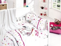 Baby bedding set with kniket blanket N-402