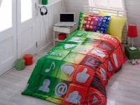 3D Twin Bedding set - H3-02