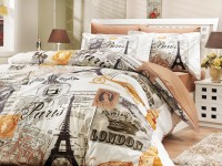 Luxury 4-Piece Duvet Cover Sets - H2-94