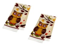 Beach or kitchen printed towels 020