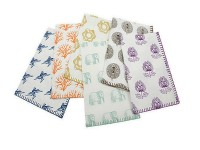 Beach or kitchen printed towels 019