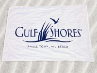 Beach or kitchen printed towels 01