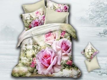 3D Bedding set - 5028