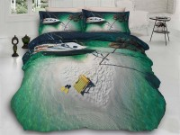 3D Bedding set - 34 Island