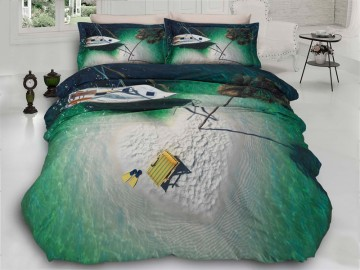 3D Bedding set - 34 Island