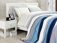 Clasic Bedding set with Knit Blanket-N211