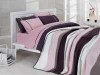 Clasic Bedding set with Knit Blanket-N204