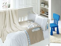 Baby bedding sets with kniket blanket N-415